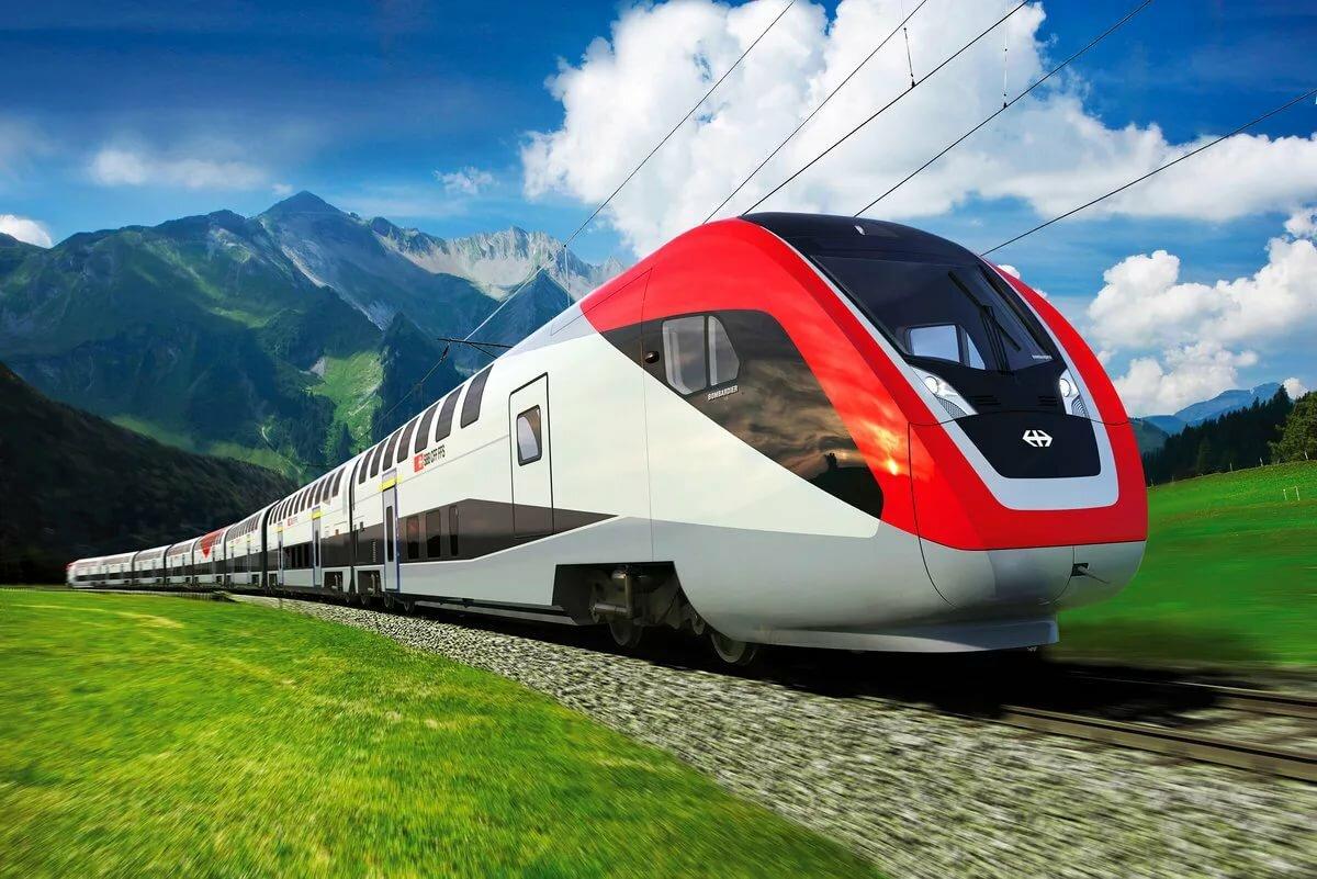 Открытки днем, картинки поезда ржд