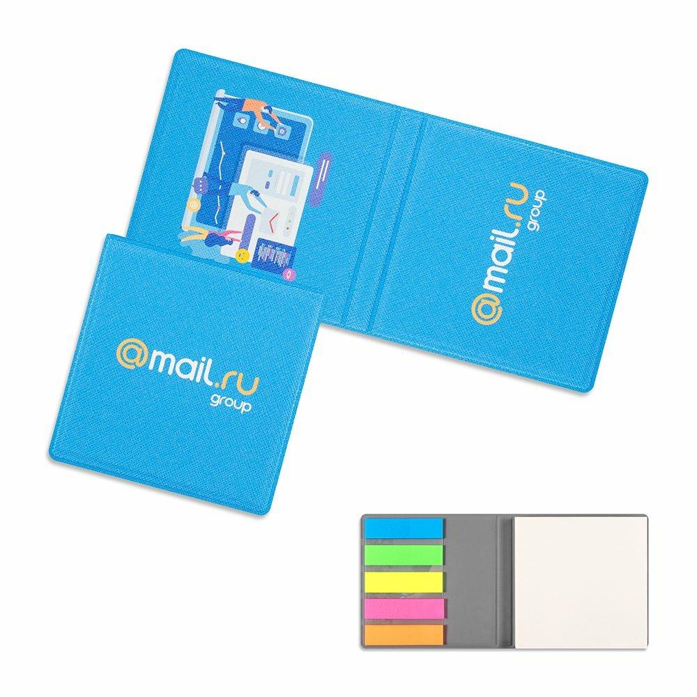 Стикеры в обложке из экокожи с полноцветной печатью