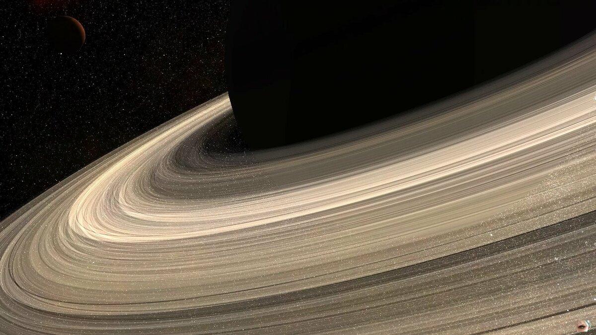 Кольца сатурна фото вблизи
