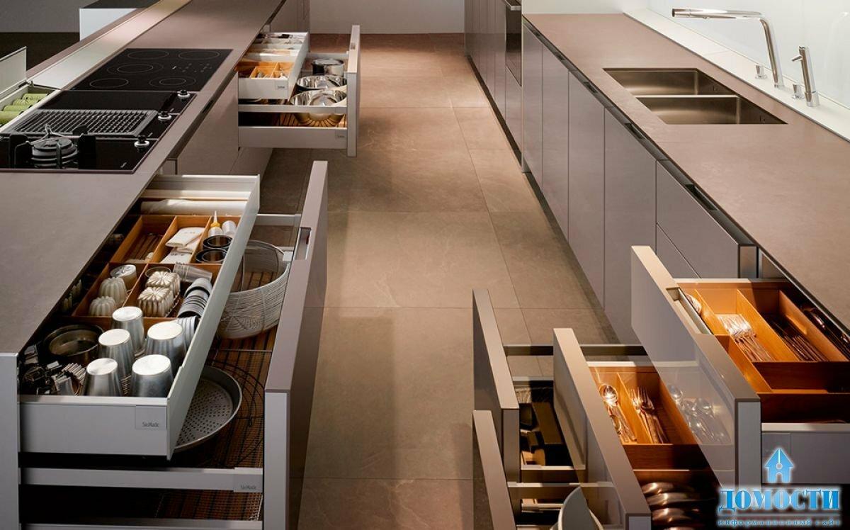 Функциональные кухни в картинках
