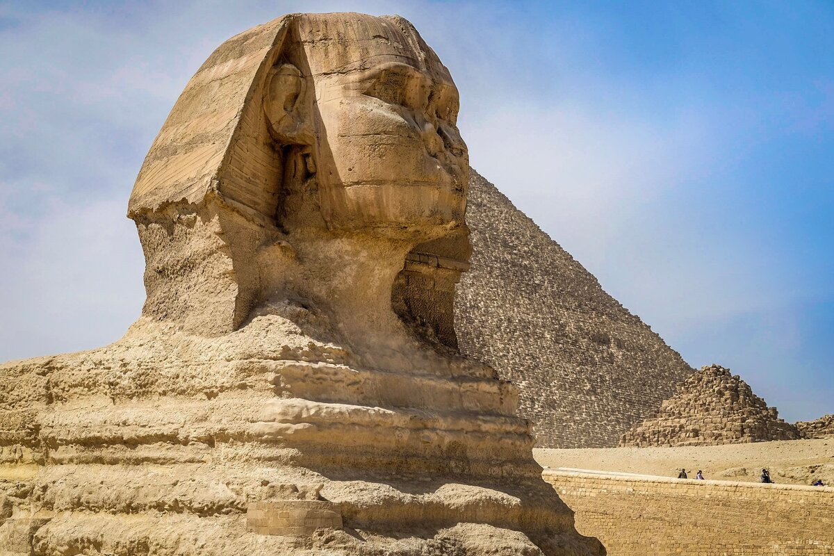 сфинкс фото в египте статуя