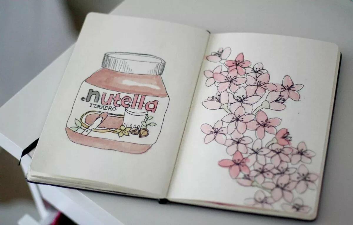 Прикольные рисунки в артбук, мира твоей