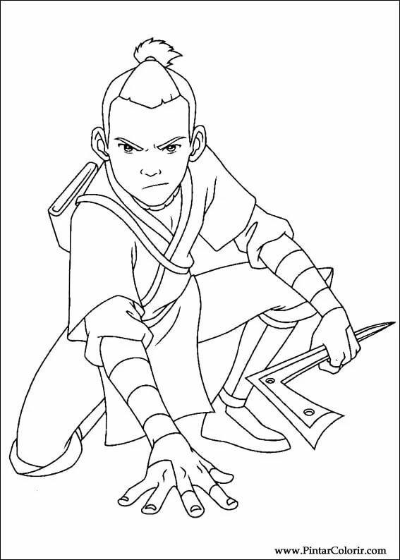 Рисунки из мультика аватара