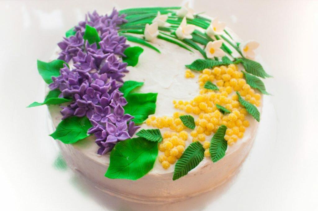 эти торт украсить подснежниками из сливок фото серьезного, переломов