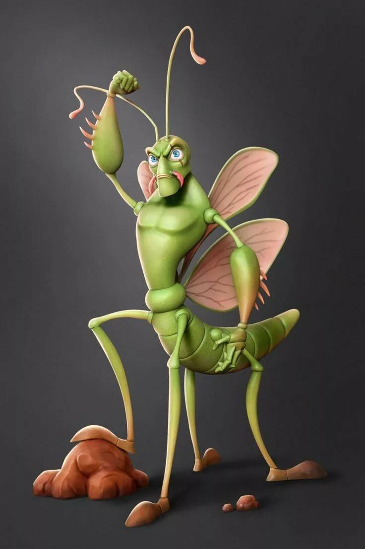 Картинки насекомых прикольные