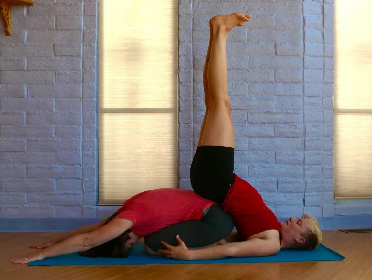 картинки йога челлендж на двоих фото