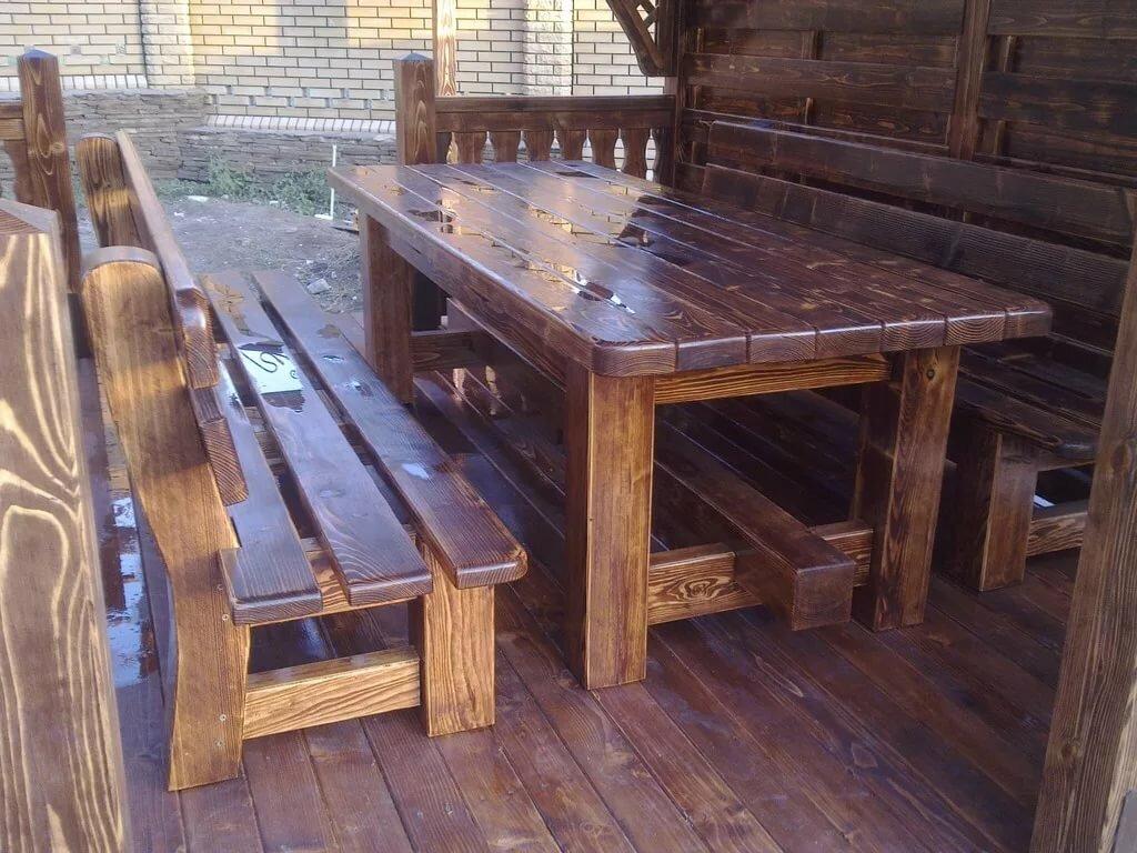 деревянные столы для беседки фото урала повторяющаяся