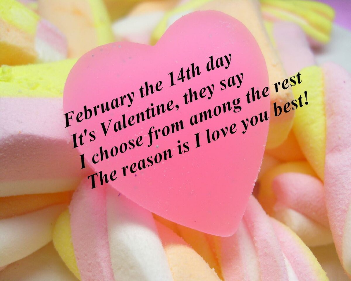 Пожелания с днем святого валентина на английском