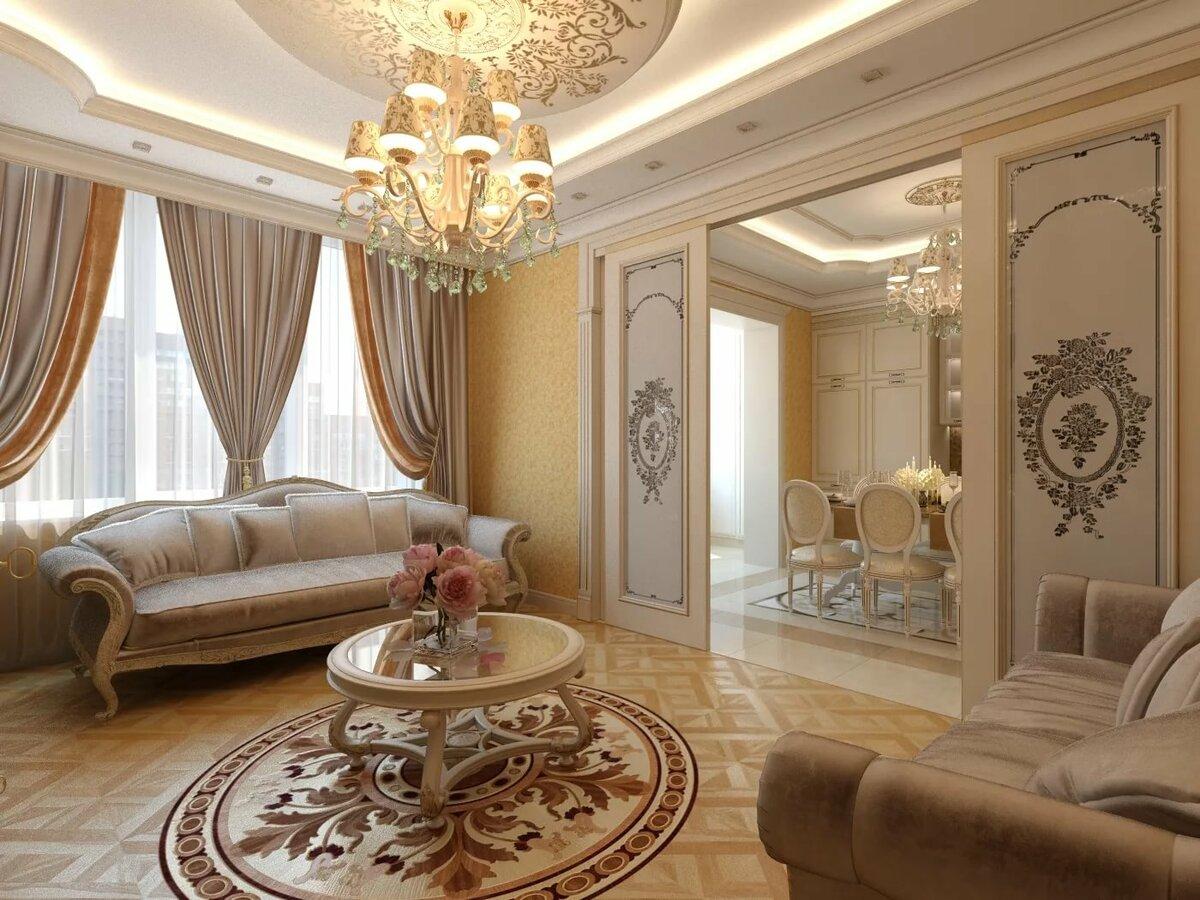 дракона красивый классический дизайн квартир фото важно как чем
