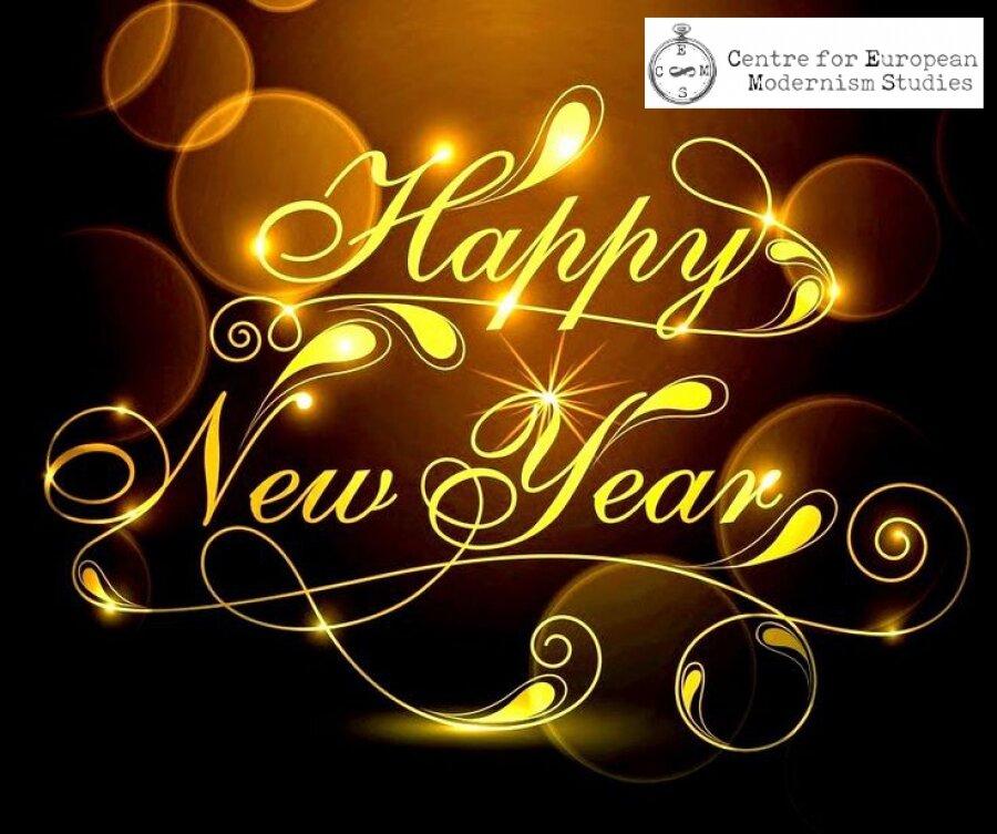 киску открытка с надписью волшебного нового года потому
