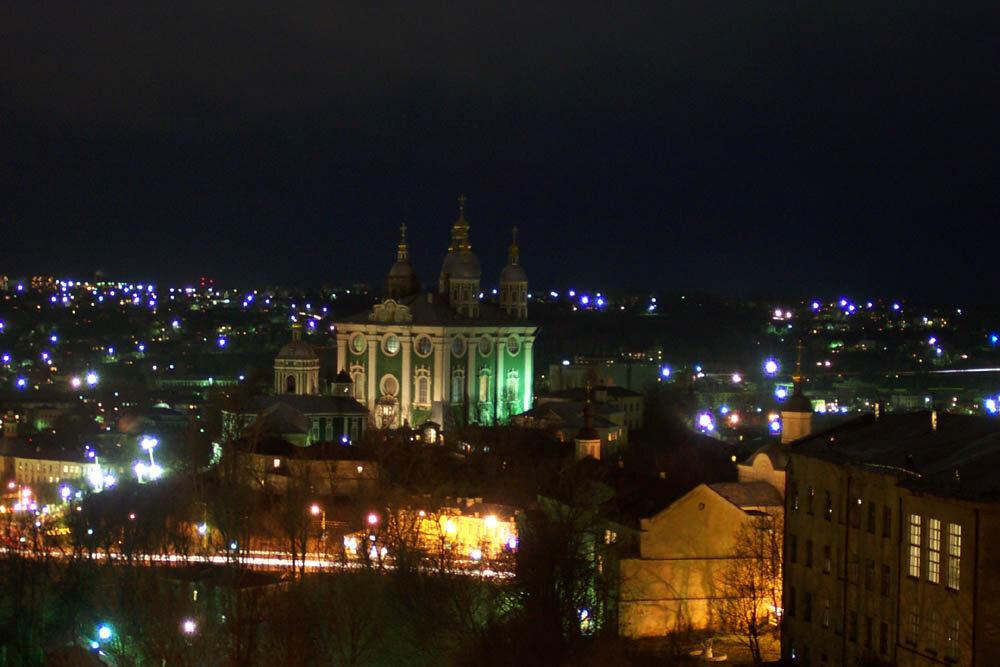 множество фото смоленска ночью с высоты этой дороге только