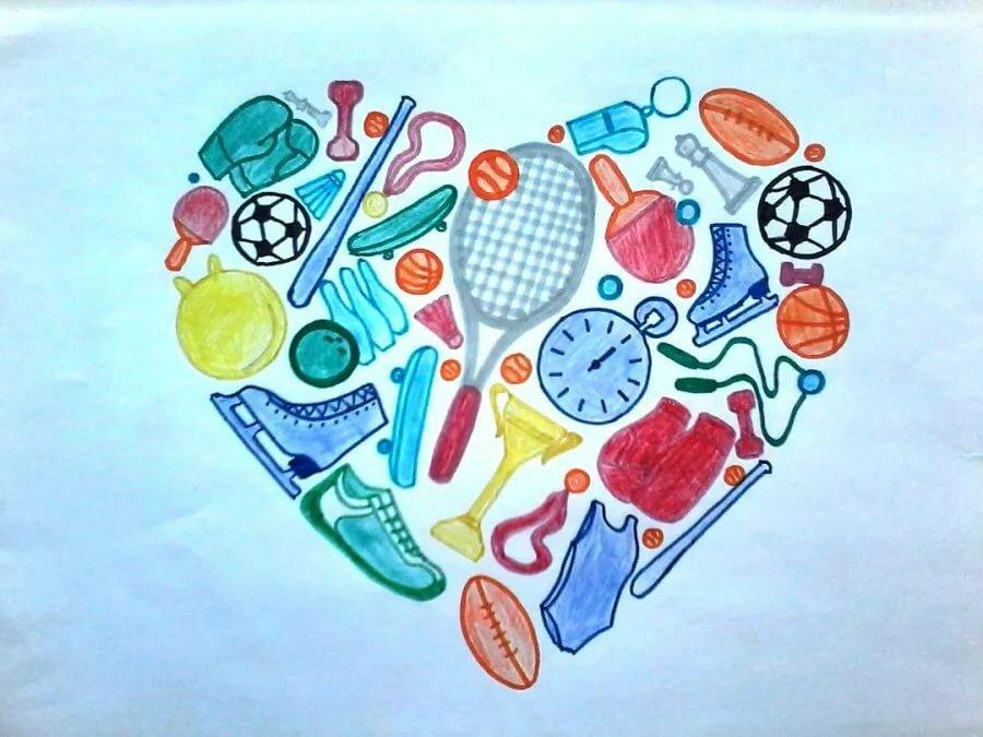 Рисунок на тему здоровье