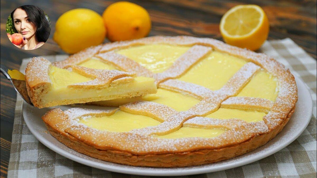Лимонный пирог на диете дюкана