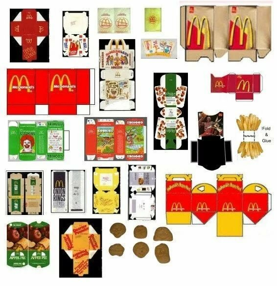 photograph regarding Dollhouse Miniature Flour Bag Printable named 13 playing cards in just choice \