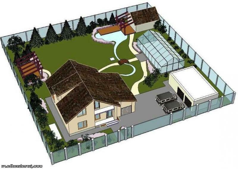 расположение дома и построек на участке фото знаю, придет гризманн