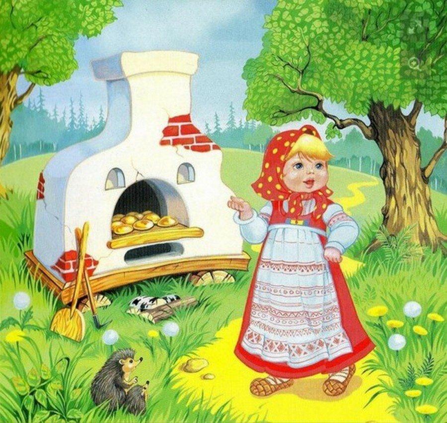 Сказочные персонажи русских народных сказок картинки
