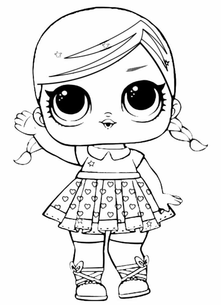 «Кукла ЛОЛ раскраска распечатать» – картка користувача ...