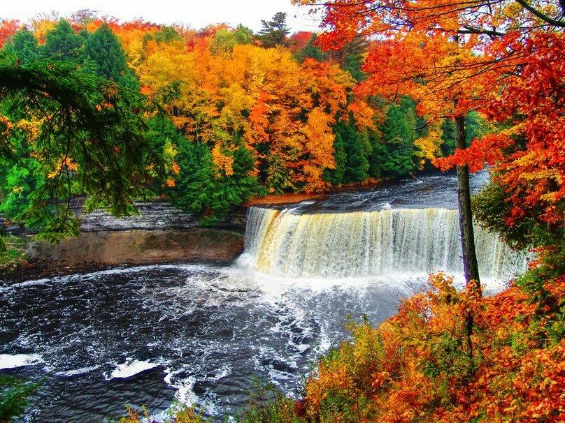 осень картинки водопады найдете впечатления покупок