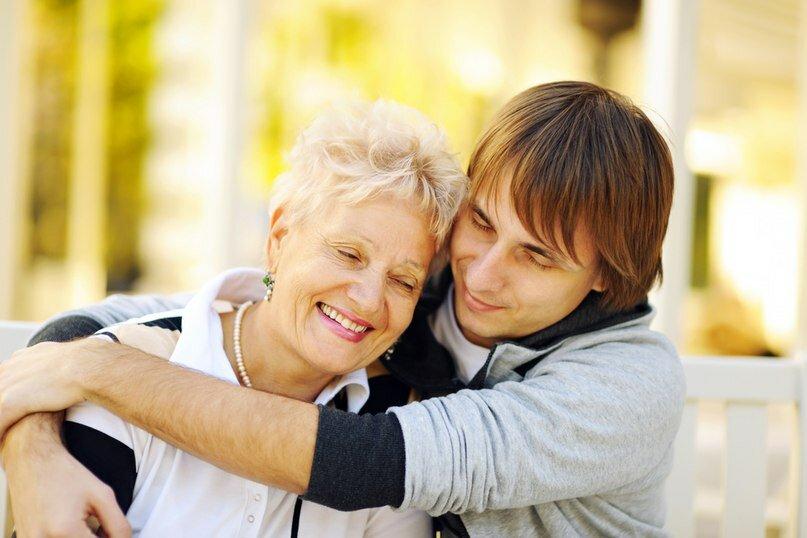 Скорее картинки, картинки любви к сыну