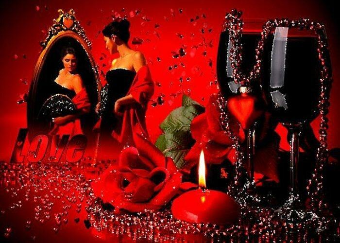 Мерцающие открытки романтические, поздравления