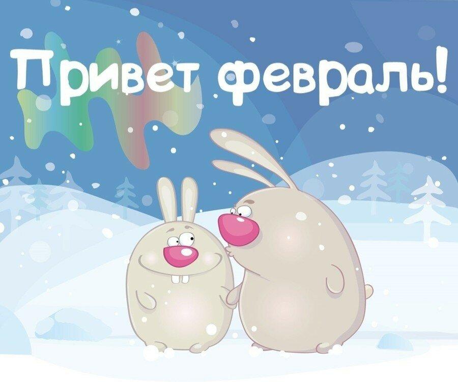 Поздравление февраль открытки