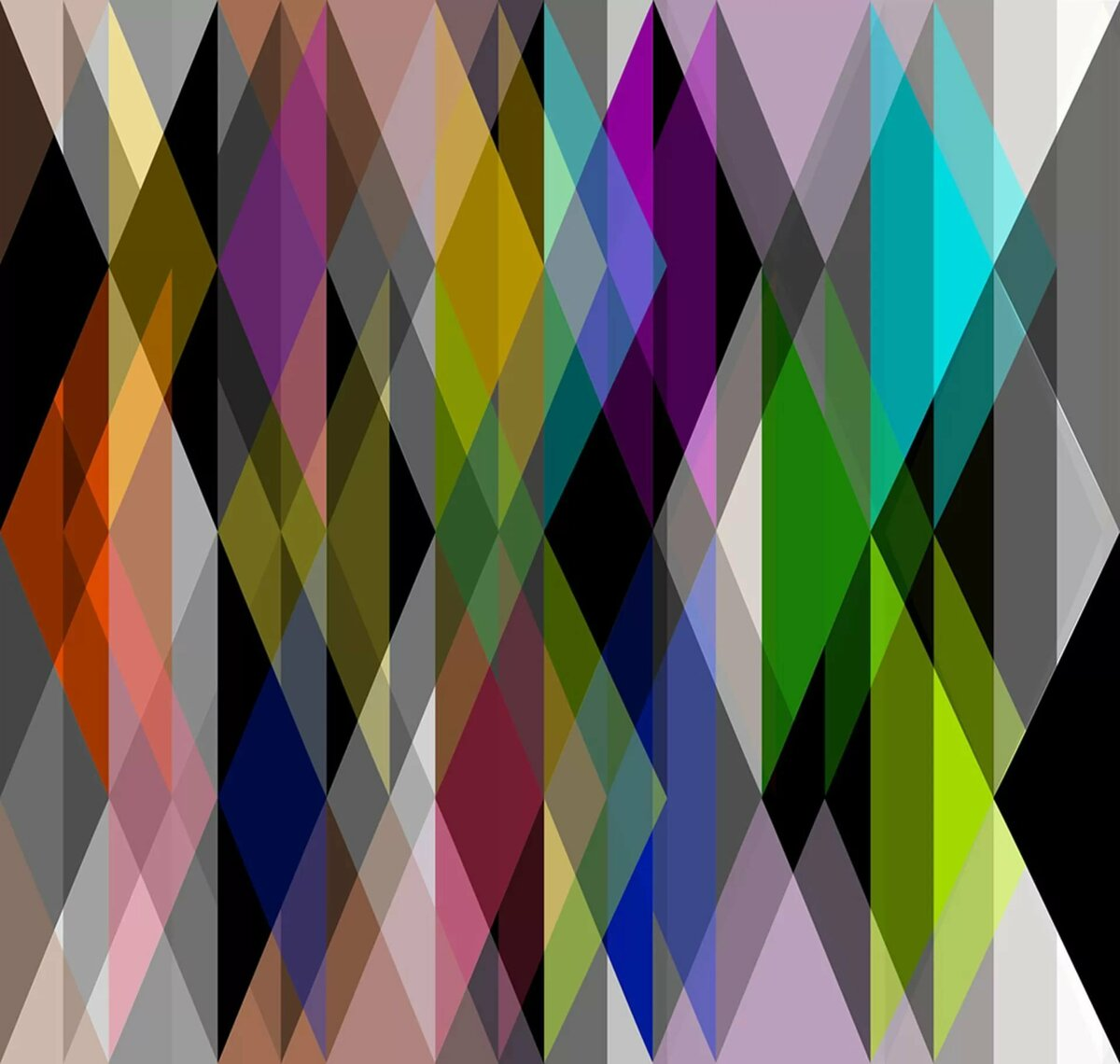 предлагает абстракции в дизайне в картинках тут как