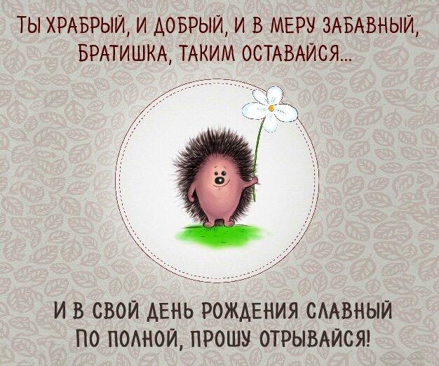 Поздравление братику открытка