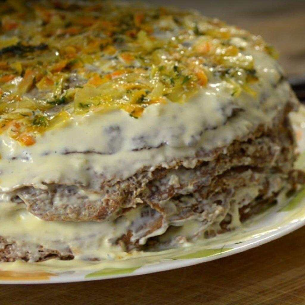 куриный торт рецепт с фото готовим дома нужный вам