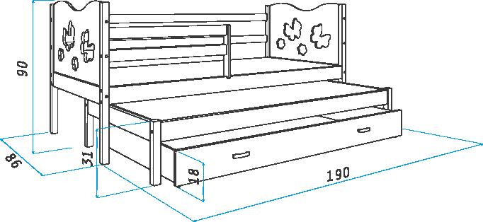 выдвижная двухъярусная кровать своими руками