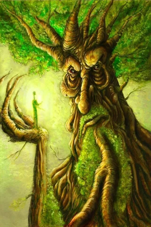 картинки деревьев из властелина колец первый