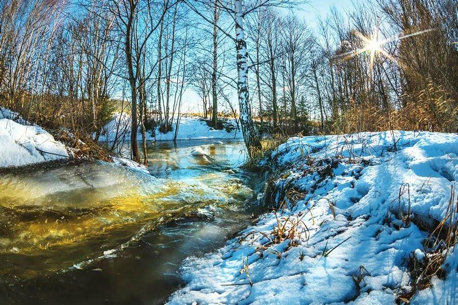 Открытки 25-летием, картинки тает снег природы