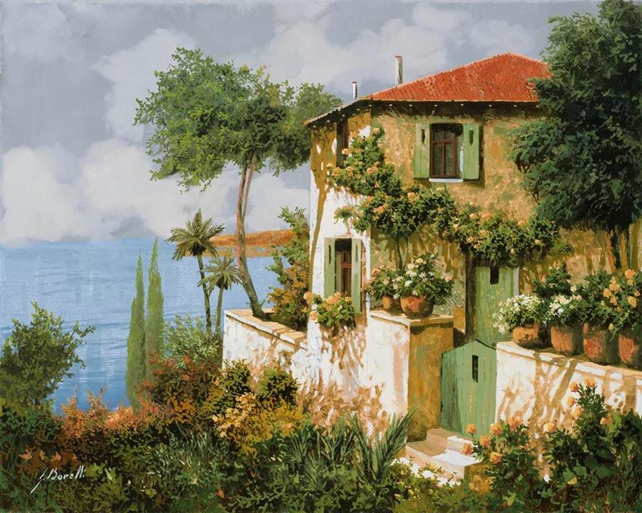язык тела дворики средиземноморья картинки зала широкими окнами