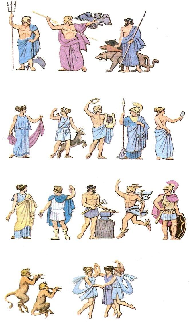 Картинки древняя греция боги