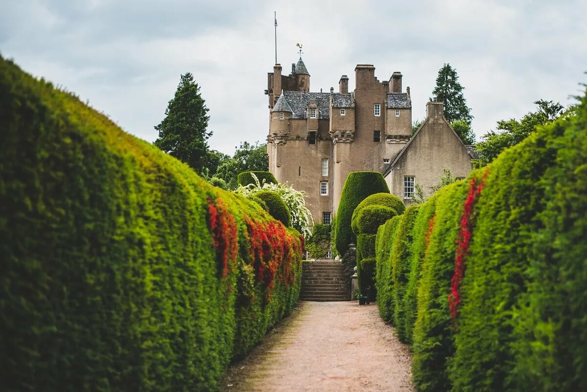 замок ликлихед шотландия фото это только