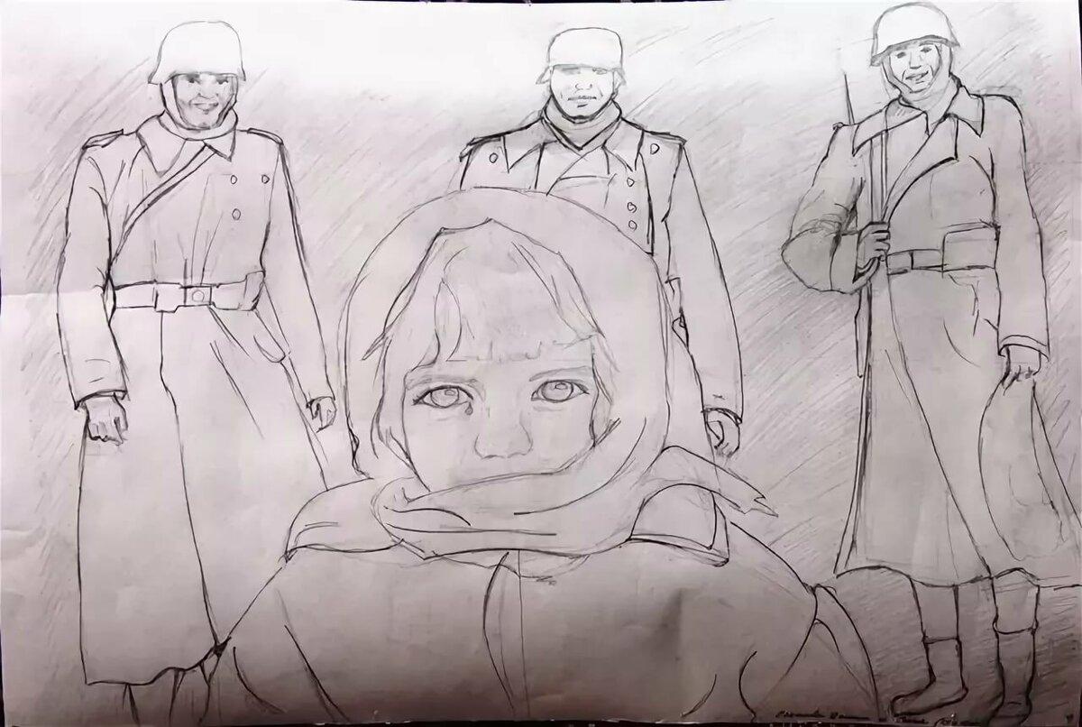 Картинки о войне красивые для срисовки