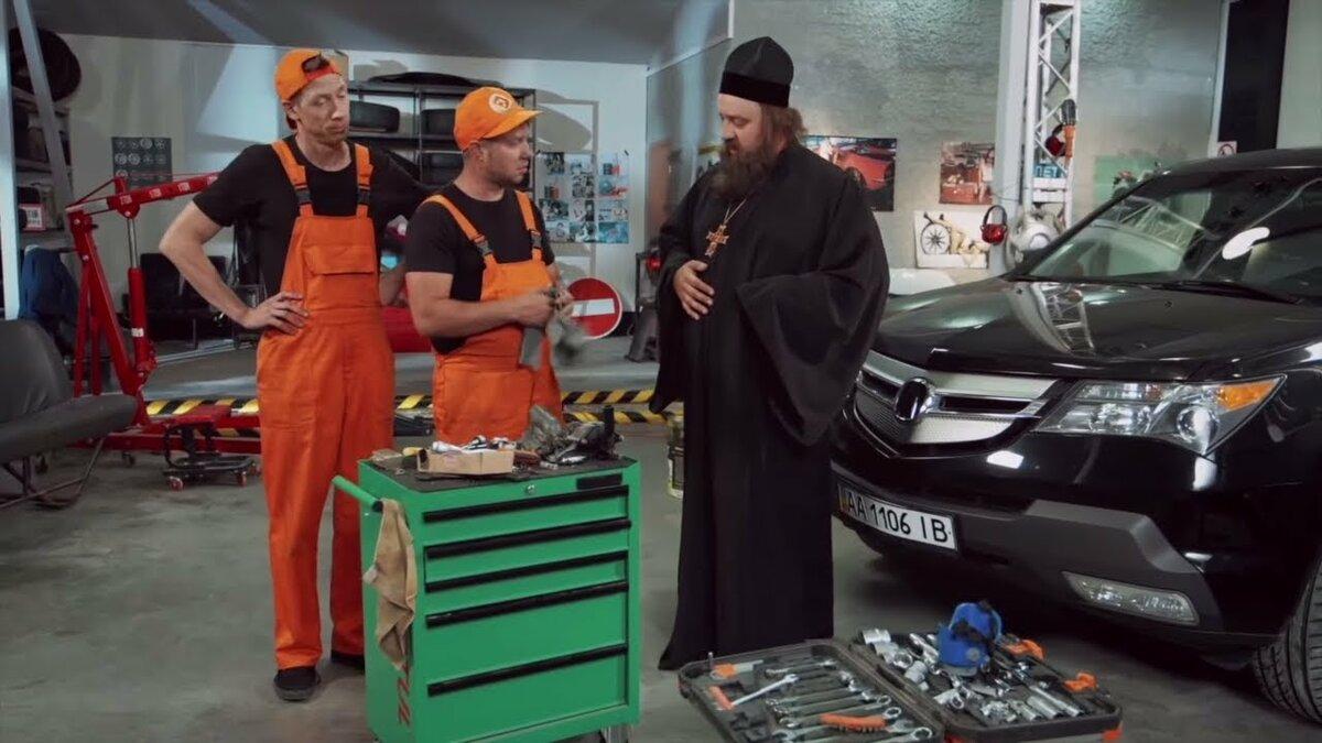 Смотреть прикольные фото про ремонт авто