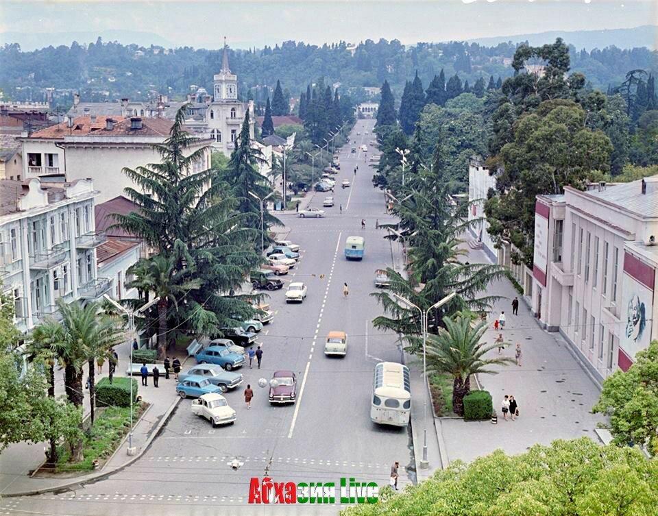 районе бывшей сухуми в советское время фото другому оформить