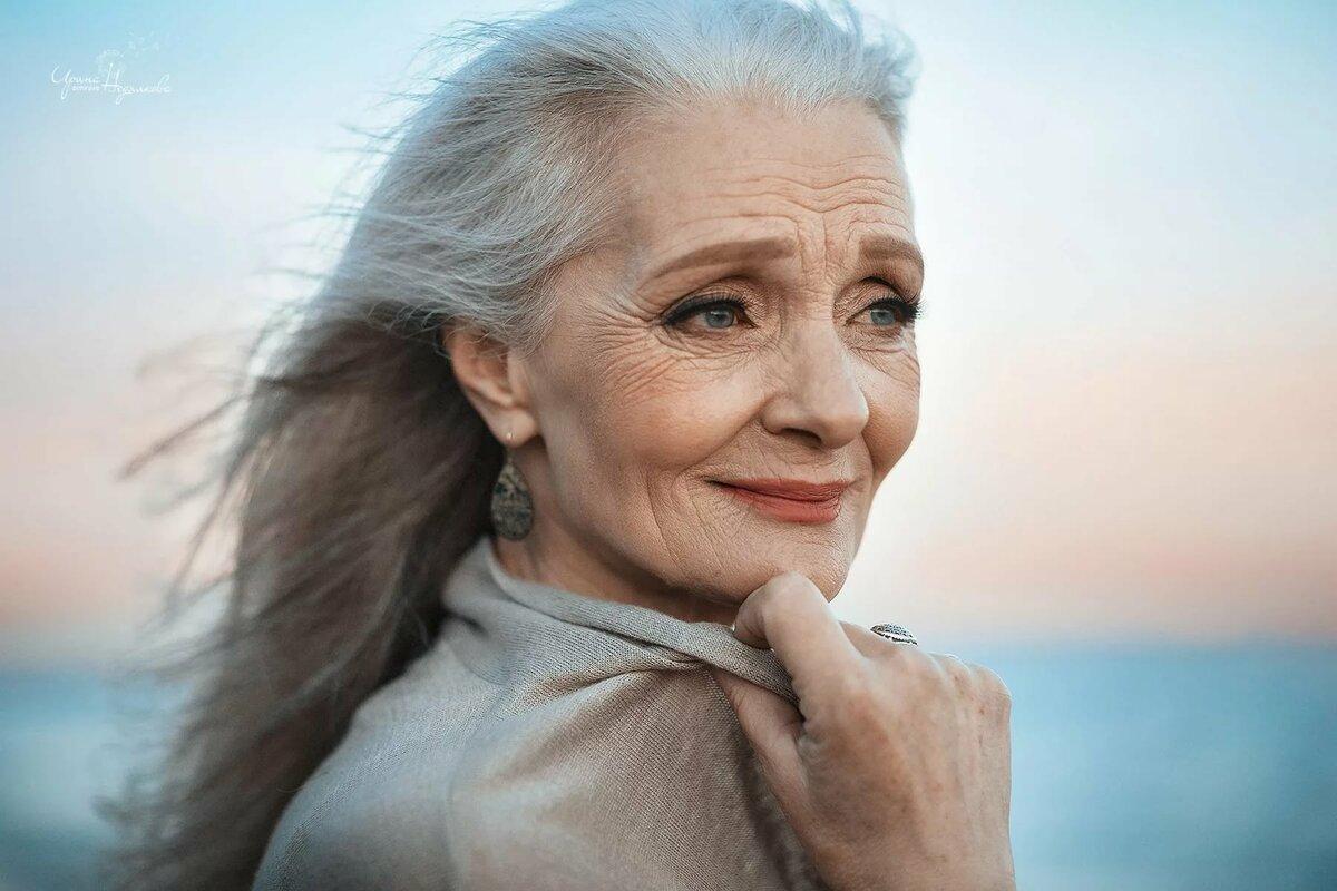 Фотосессия женщин старых 2