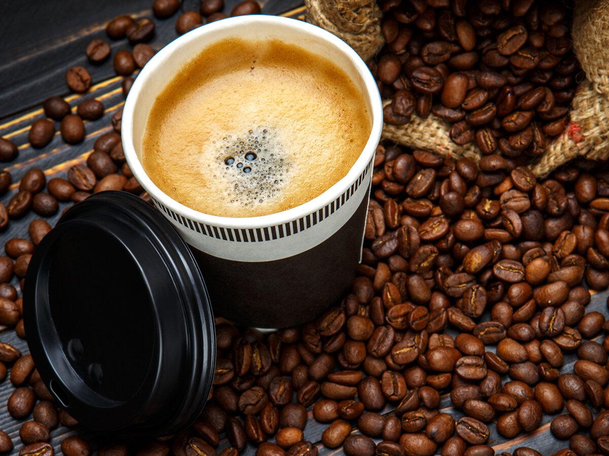 Кофе картинки чашка зерна