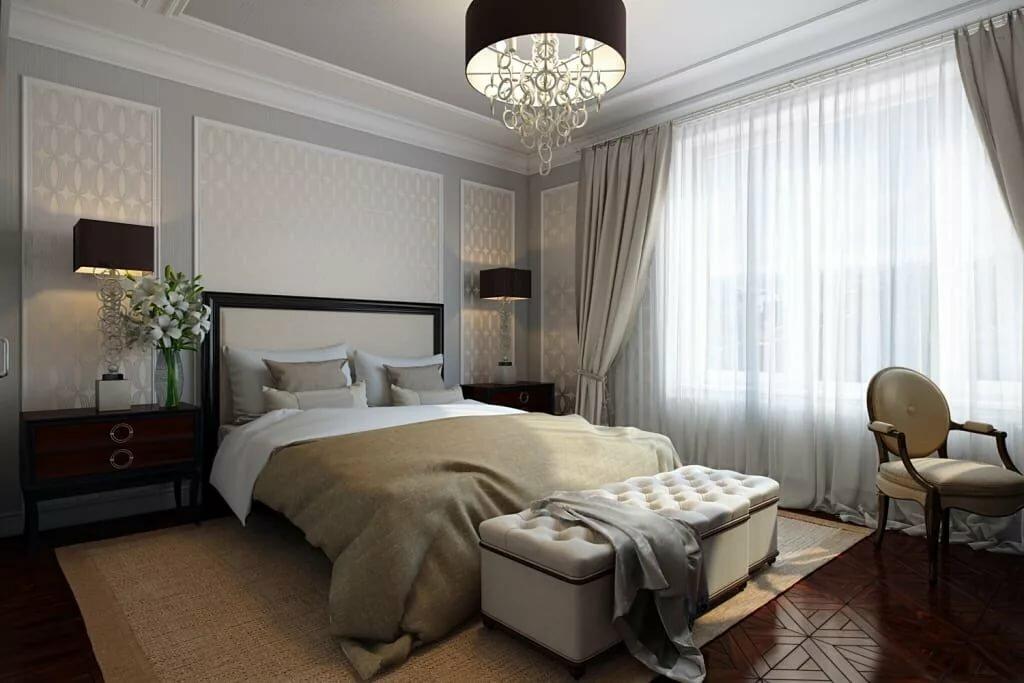 том спальня в стиле неоклассика фото интерьер физических характеристик