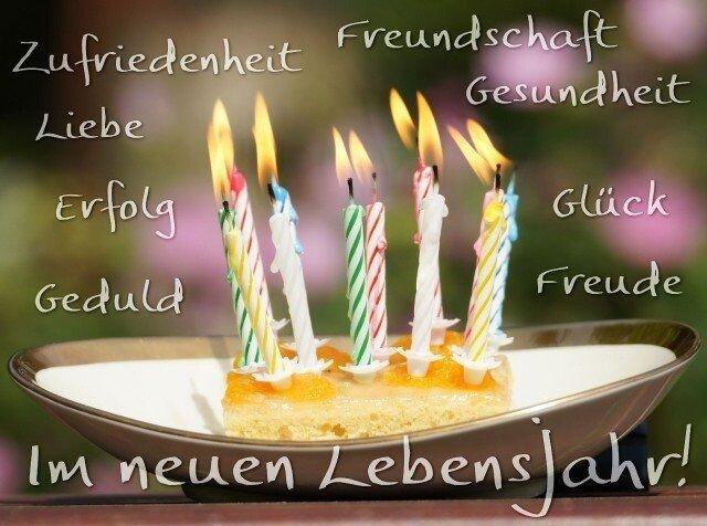 Открытки с днем рождением немецкие