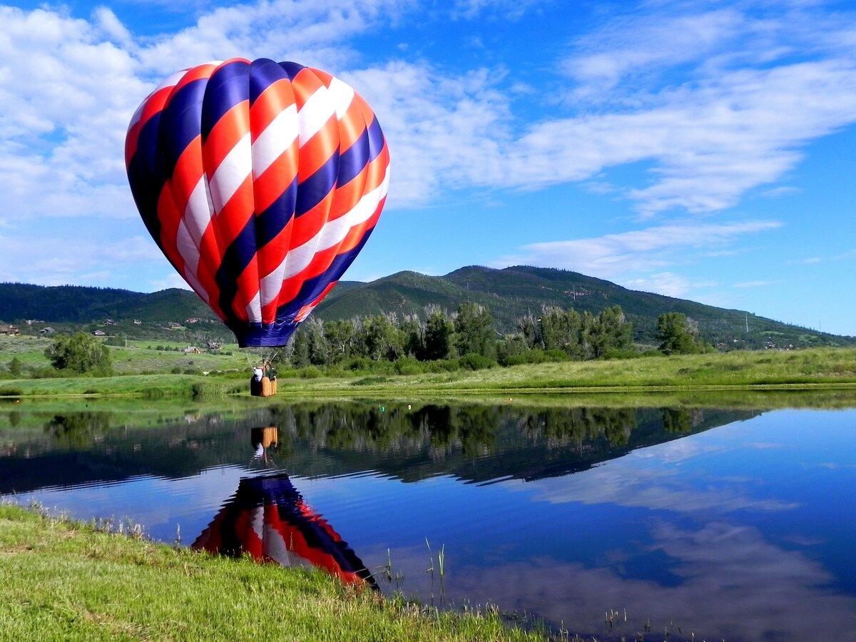красивая картинка воздушного шара молодые