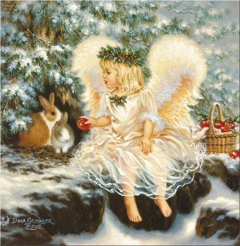 Волшебные открытки с рождеством, открытки лет