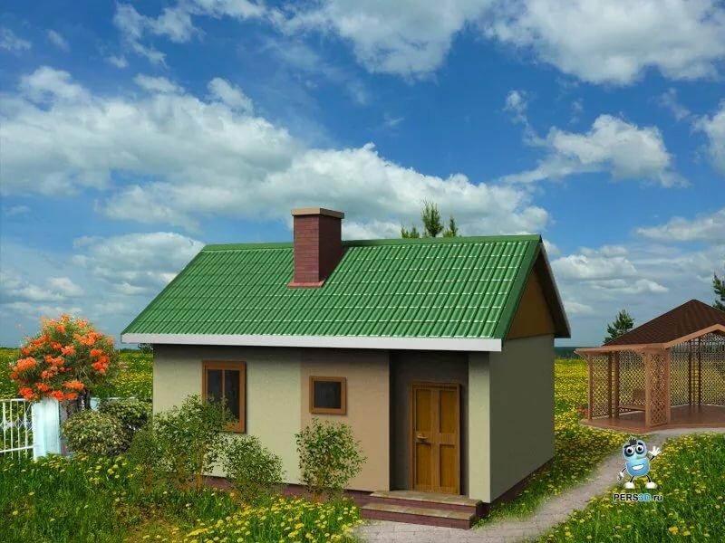 проекты дачных домов фото из пеноблока удачное фото
