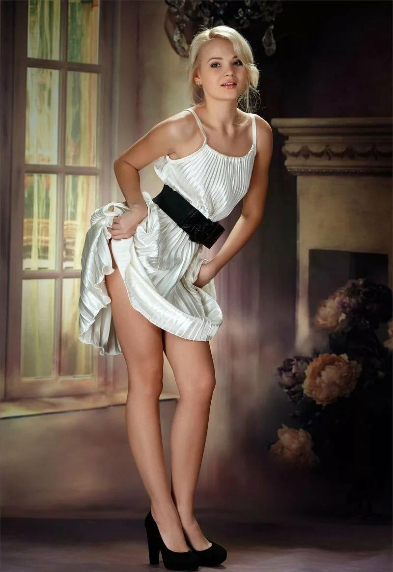 пышное платье эротика вами