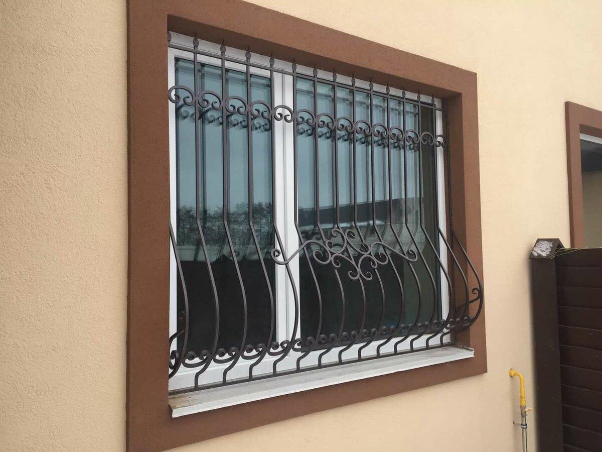 картинки решеток металлических на окна