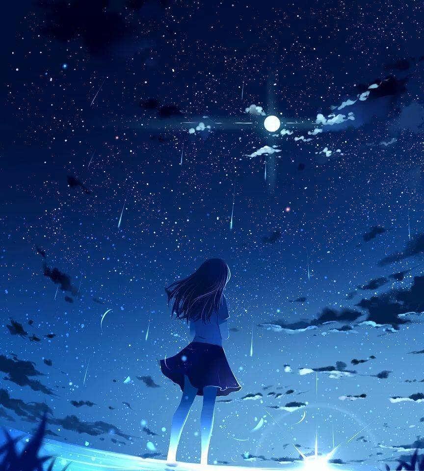 Звезды картинки аниме