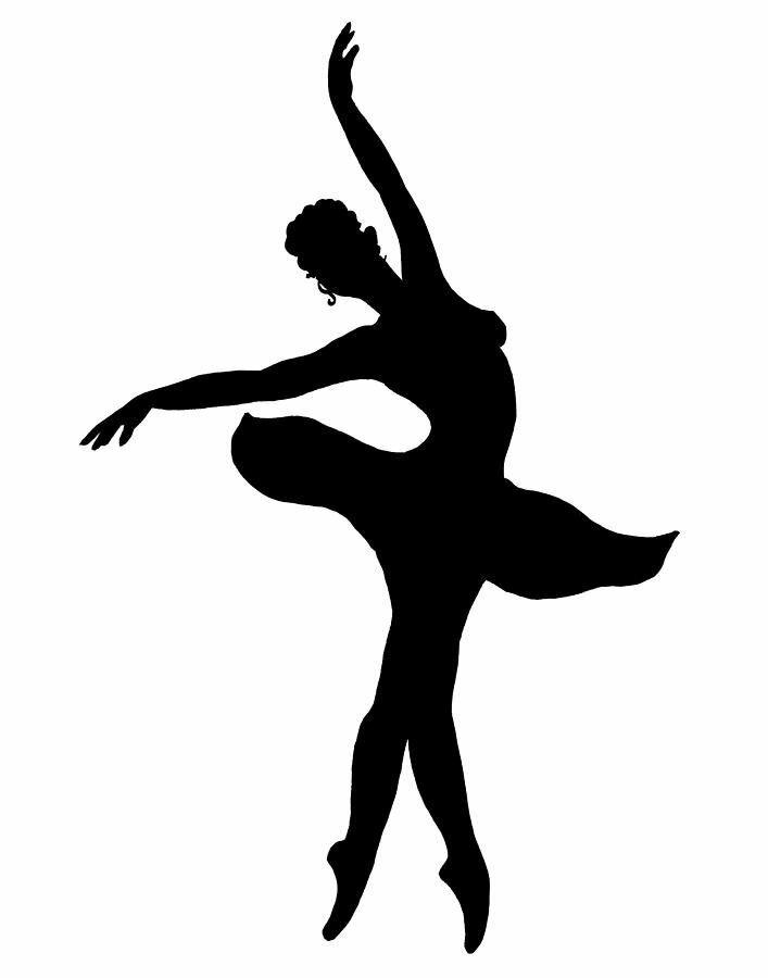 Картинки танцы трафарет