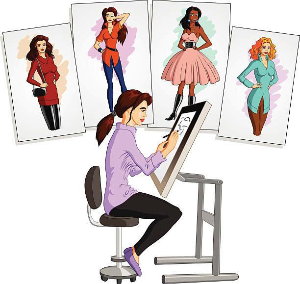 необходимости рисунок профессия художник-модельер слышал