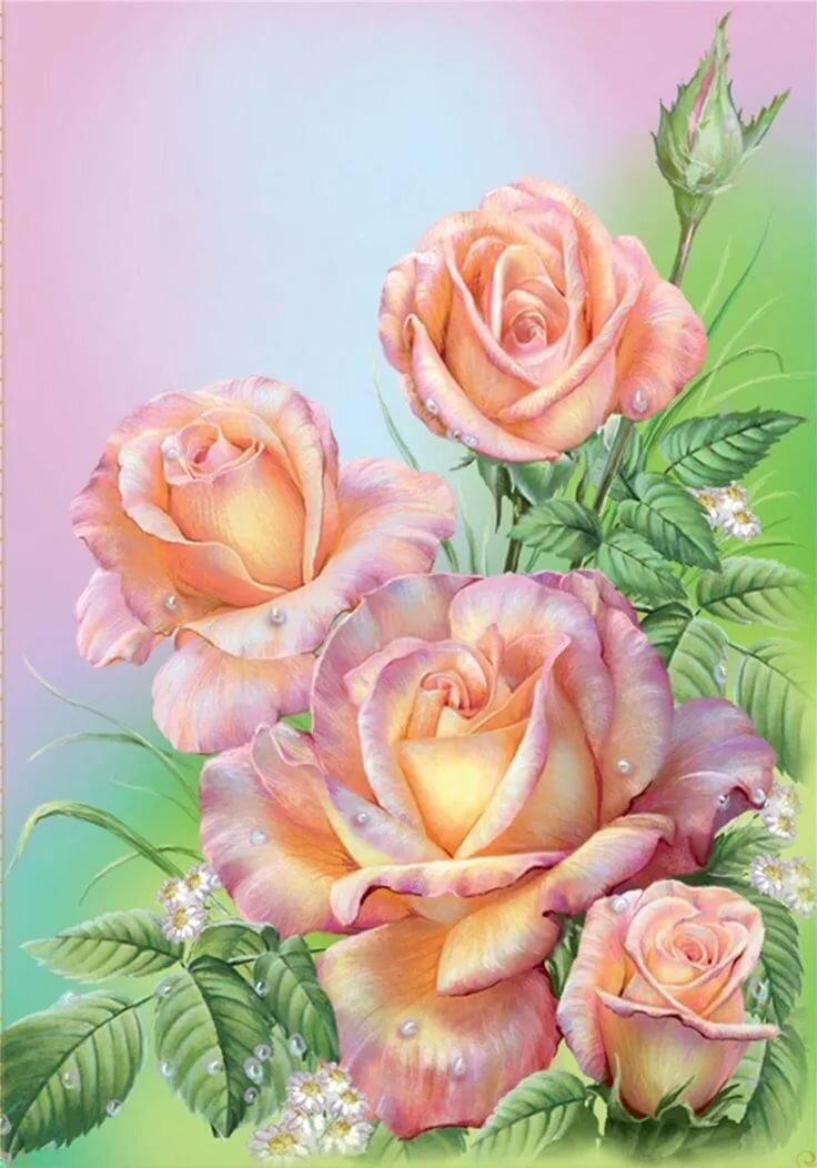 Цыгане смешные, цветы для открытки на формат а4